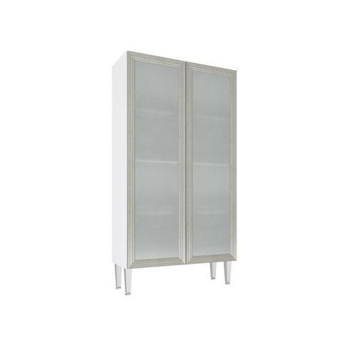 Cristaleira 2 Portas Vidro 80x149 Mia Coccina