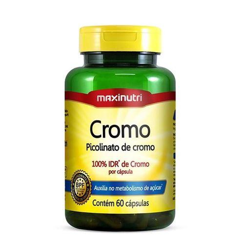 Cromo - Picolinato de Cromo - Maxinutri - 60 Cápsulas