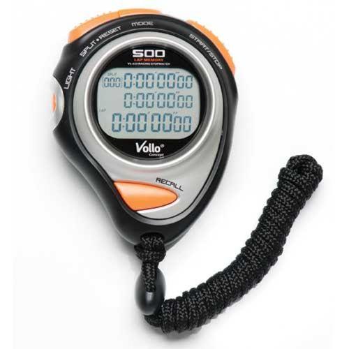 Cronômetro Profissional VOLLO VL237 com Relógio e Alarme