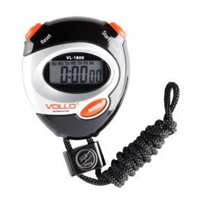 Cronômetro VL-1809 Vollo / Preto e Laranja