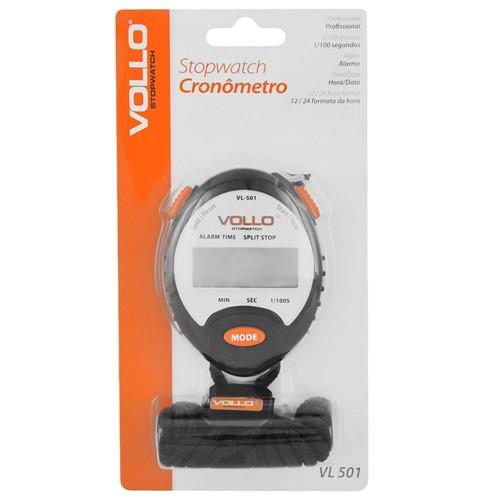 Cronômetro Vollo VL 501 Profissional | Loja Vollo | Botoli Esportes