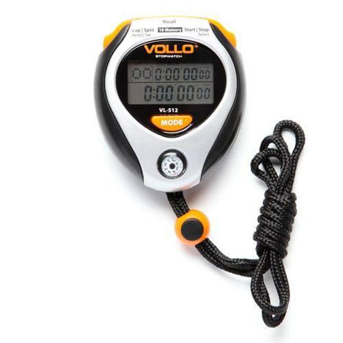 Cronômetro VOLLO VL-512 com Relógio, Alarme e Bússola