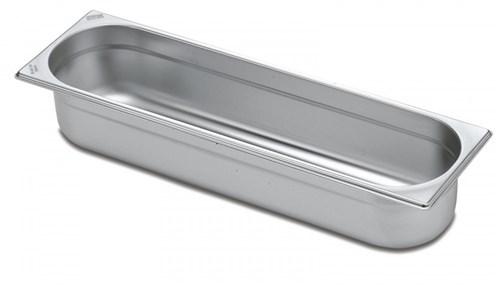 Cuba Aço Inox 2/4 Sem Alças - Profundidade 40mm