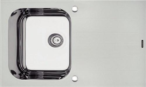 Cuba Sobrepor Vidro Branco 86x50 1C