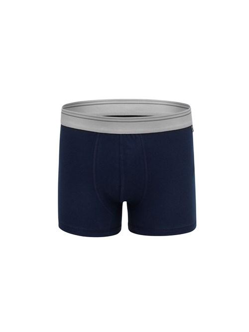 Cueca Boxer Hawai Azul Marinho P