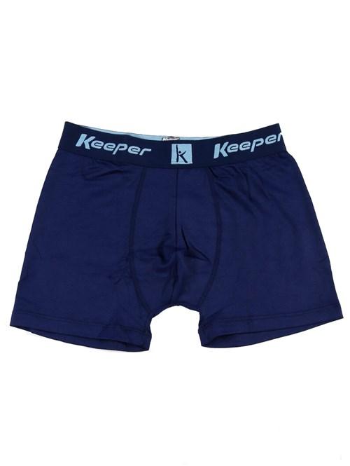 Cueca Boxer Keeper Azul Marinho