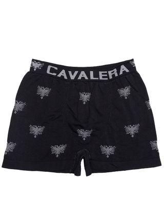 Tudo sobre 'Cueca Boxer Masculina Cavalera Preto'