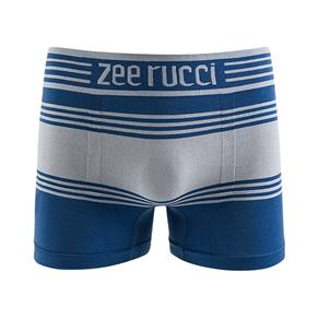 Cueca Boxer Sem Costura - Azul Marinho - G