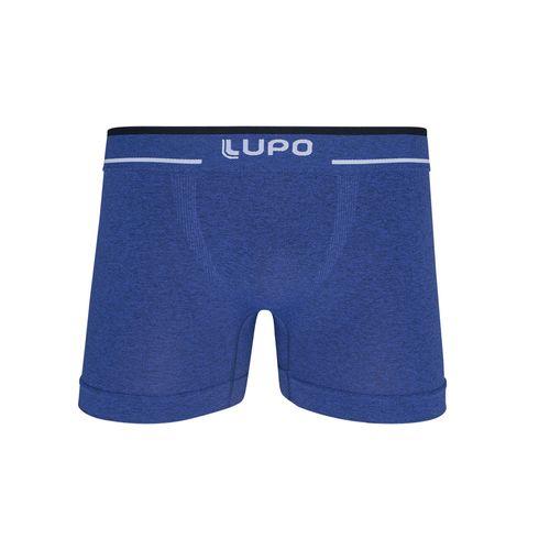 Tudo sobre 'Cueca Lupo Boxer - Sem Costura (Adulto) Tamanho: P | Cor: Azul Nautico'
