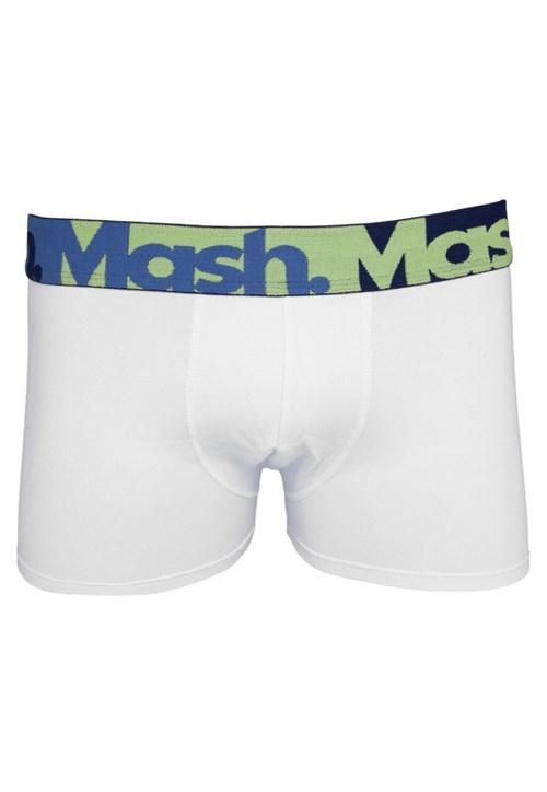 Cueca Mash Boxer Fusion Branca