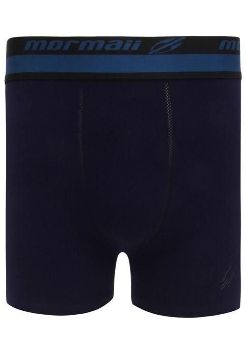 Cueca Mormaii Boxer Logo Azul-marinho