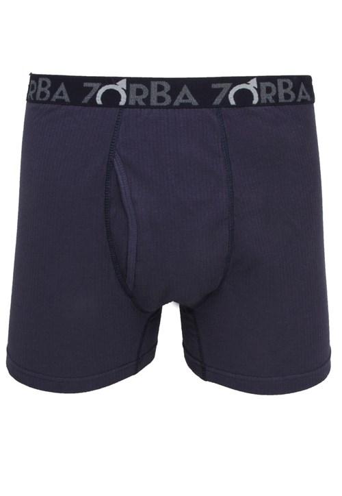 Cueca Zorba Boxer Flex Azul-marinho