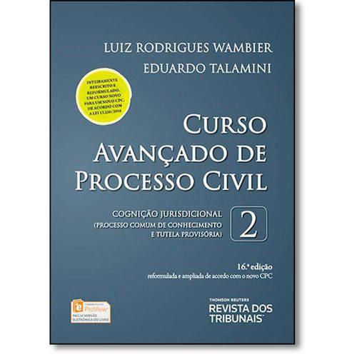 Curso Avançado de Processo Civil, V.2