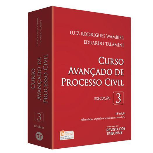 Curso Avancado de Processo Civil Vol 3 - Rt