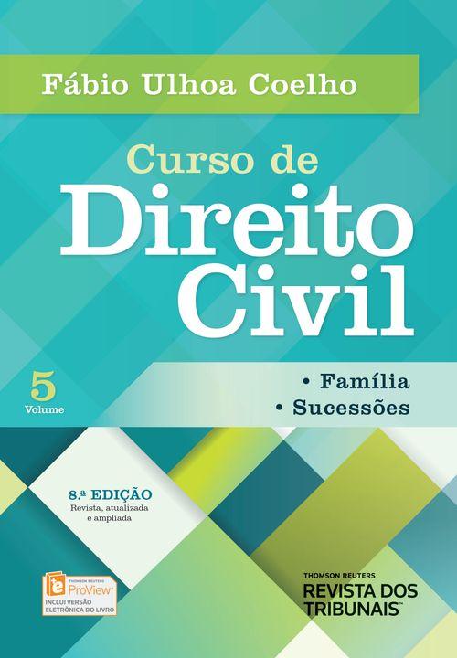 Tudo sobre 'Curso de Direito Civil Família Sucessões Volume 5 - 8ª Edição'