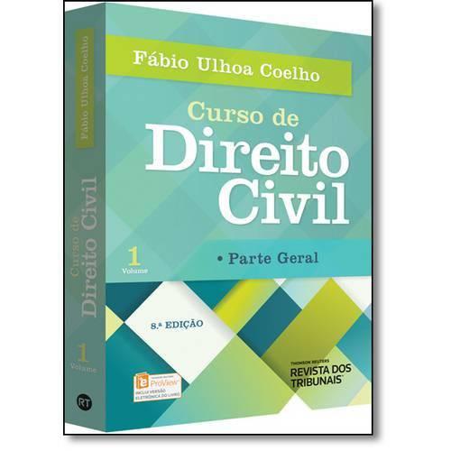 Tudo sobre 'Curso de Direito Civil: Parte Geral - Vol.1'
