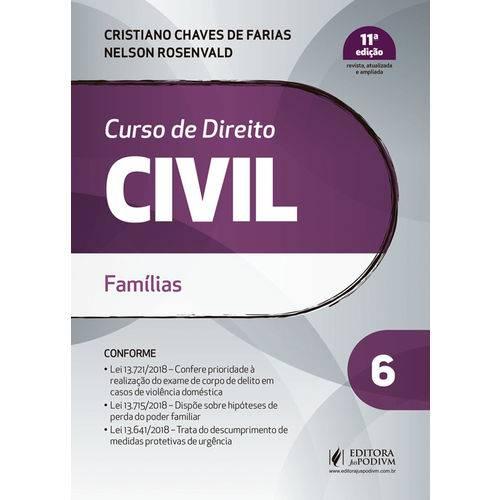 Curso de Direito Civil - Volume 6 - Famílias - 11ª Edição (2019)