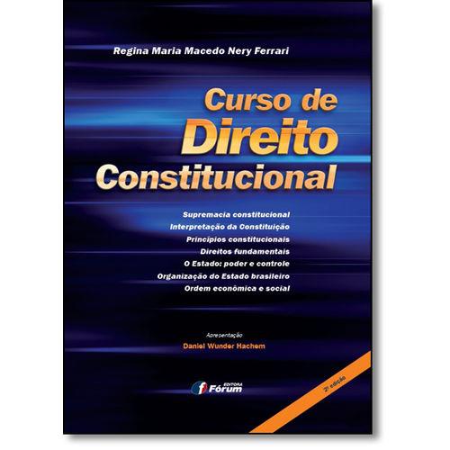 Curso de Direito Constitucional - 02 Ed
