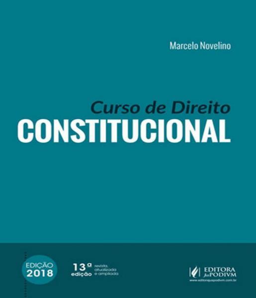 Curso de Direito Constitucional - 13 Ed - Juspodivm