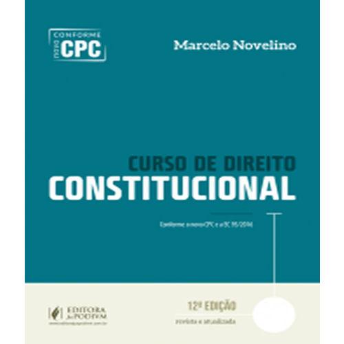 Curso de Direito Constitucional - 12 Ed