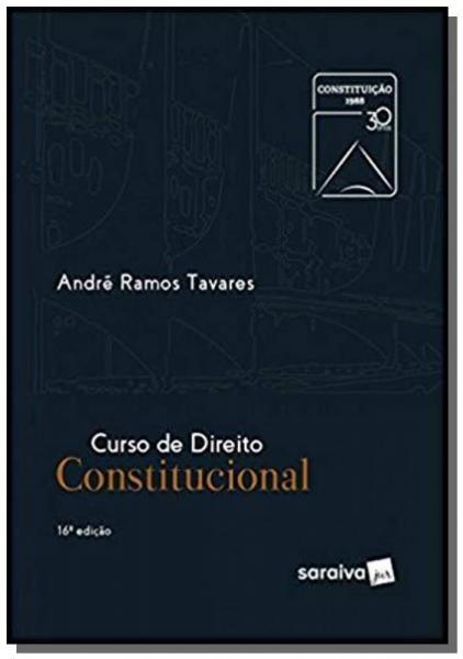 CURSO DE DIREITO CONSTITUCIONAL - 16a ED - Saraiva