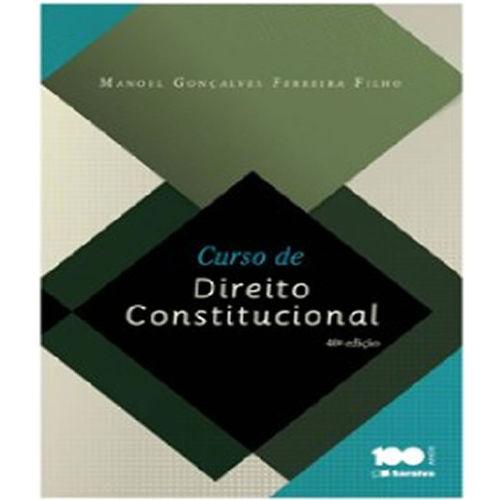 Curso de Direito Constitucional - 40 Ed
