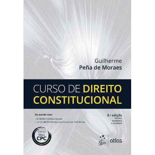 Curso de Direito Constitucional - 8ª Ed