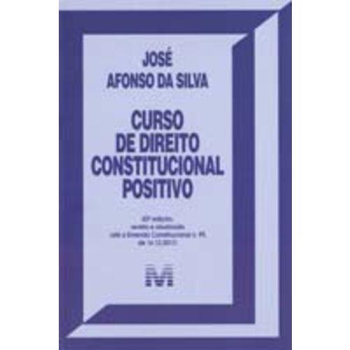Curso de Direito Constitucional Positivo - 42ed/19