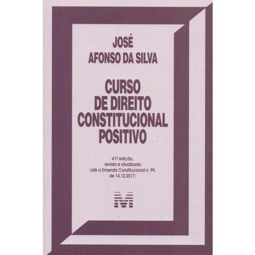 Curso de Direito Constitucional Positivo