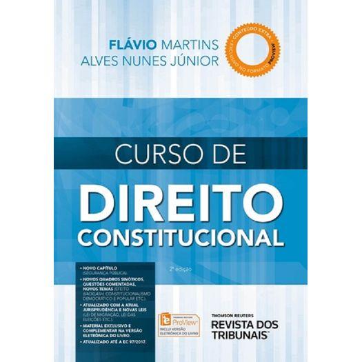 Curso de Direito Constitucional - Rt - 2 Ed