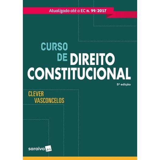 Curso de Direito Constitucional - Saraiva - 5 Ed