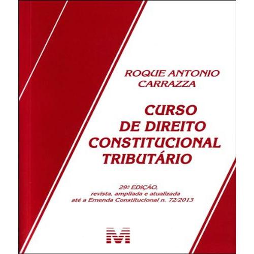 Curso de Direito Constitucional Tributario - 29 Ed