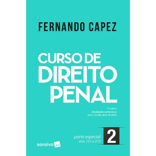 Curso de Direito Penal Vol 2 - Capez - Saraiva - 17 Ed