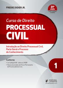 Curso de Direito Processual Civil - V.1 (2019)