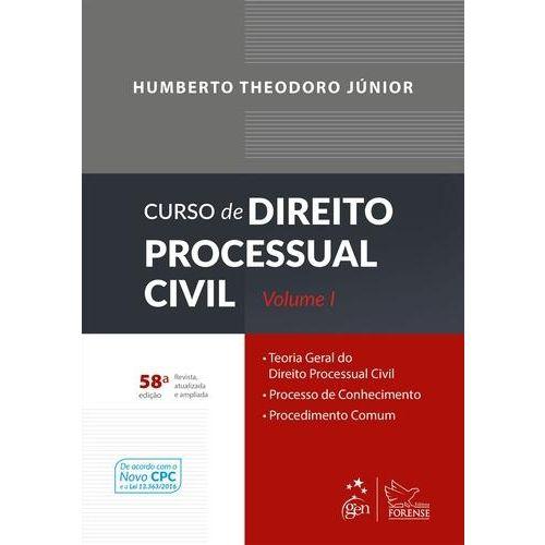 Curso de Direito Processual Civil, V.1