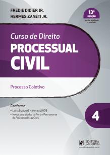 Curso de Direito Processual Civil - V.4 (2019)