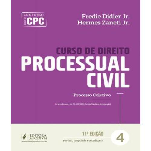 Curso de Direito Processual Civil - Vol 04 - 11 Ed