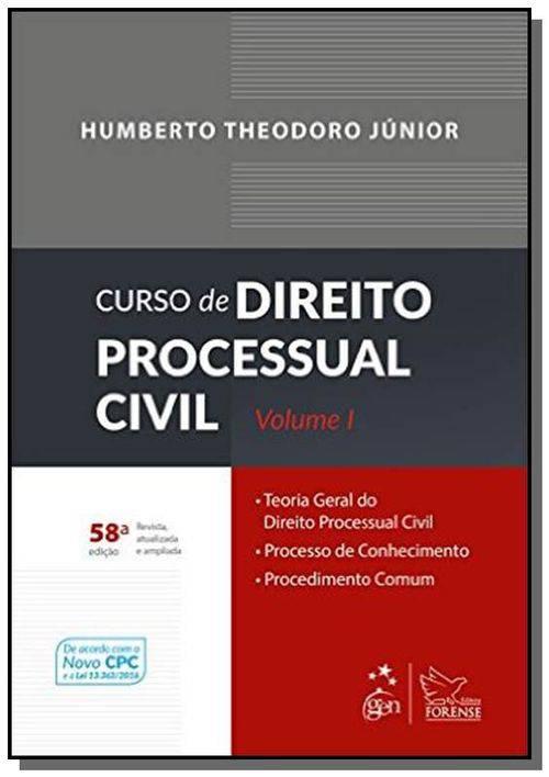 Curso de Direito Processual Civil - Vol.1 05