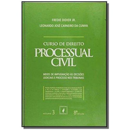 Curso de Direito Processual Civil - Vol. 3 - 8 Ed.