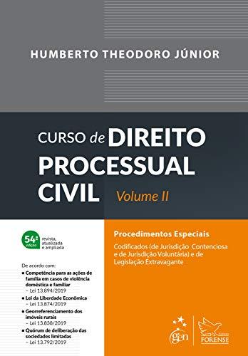 Curso de Direito Processual Civil - Vol. II