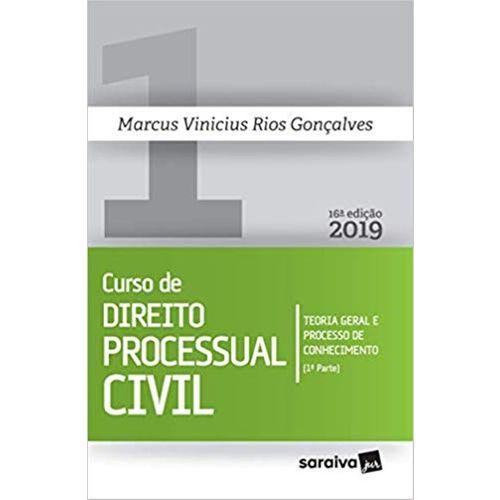 Curso de Direito Processual Civil - Volume 1 - 16ª Edição (2019)