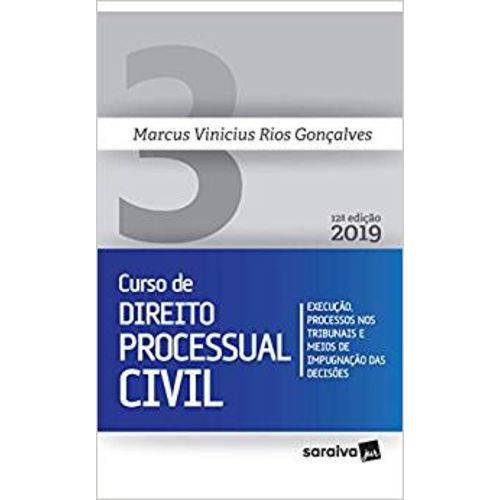 Curso de Direito Processual Civil - Volume 3 - 12ª Edição (2019)