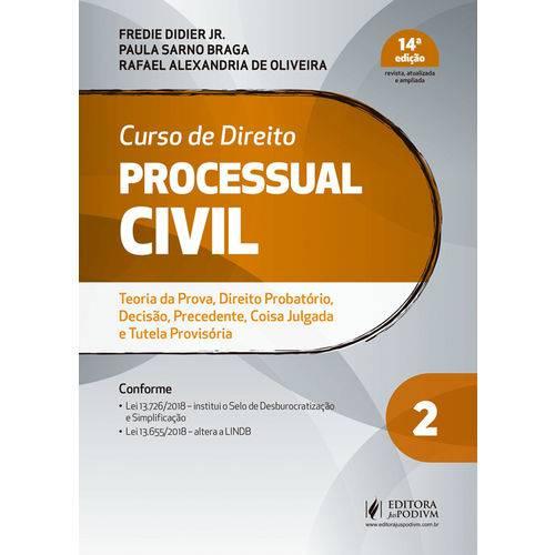 Curso de Direito Processual Civil - Volume 2 - 14ª Edição (2019)