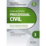 Curso de Direito Processual Civil - Volume 3 - 16ª Edição (2019)