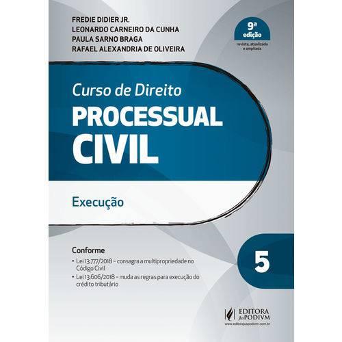 Curso de Direito Processual Civil - Volume 5 - 9ª Edição (2019)