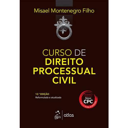 Tudo sobre 'Curso de Direito Processual Civil'