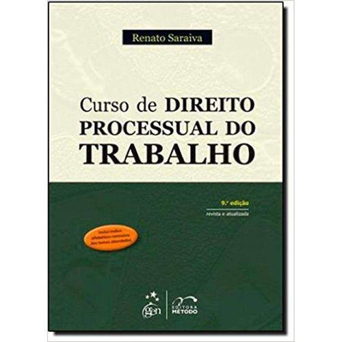Curso de Direito Processual do Trabalho - 9º Ed. 2012