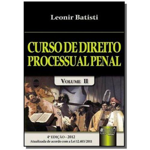 Curso de Direito Processual Penal Vol 2