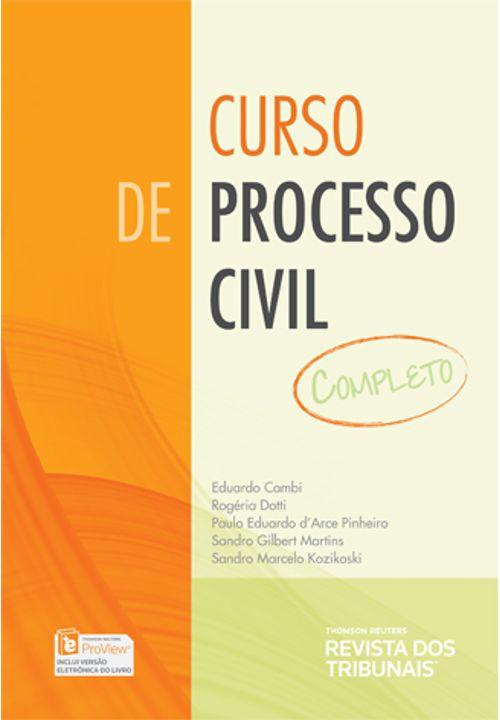 Tudo sobre 'Curso de Processo Civil Completo'