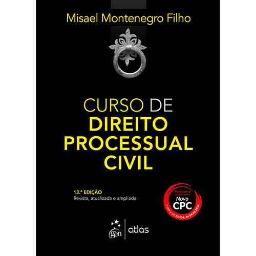Curso Direito Processual Civil - 13ª Ed.